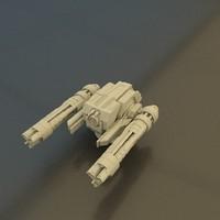 3d model energy gun