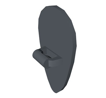 lego oval shield 3d 3ds