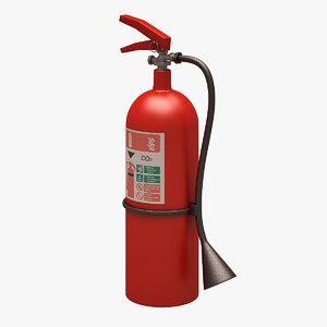 3d extinguisher clean