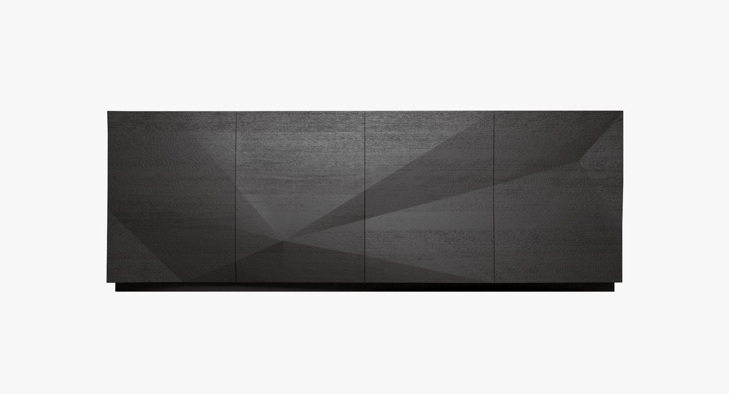 3d model usona sideboard