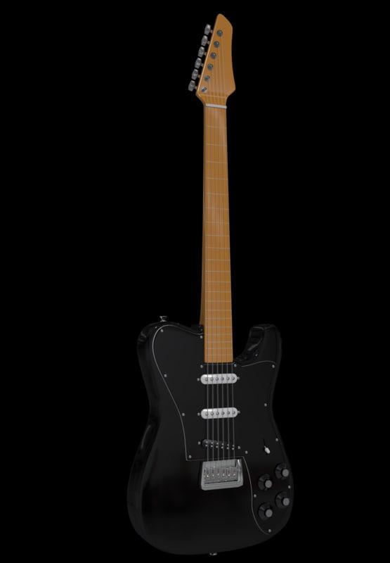obj electric guitar