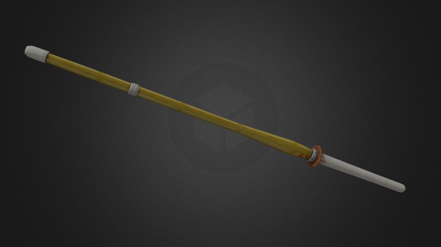 shinai training sword 3ds