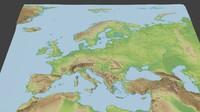 Europe surface