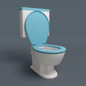 3d stylish lavatory