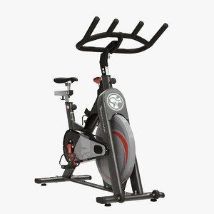 3d exercise bike model