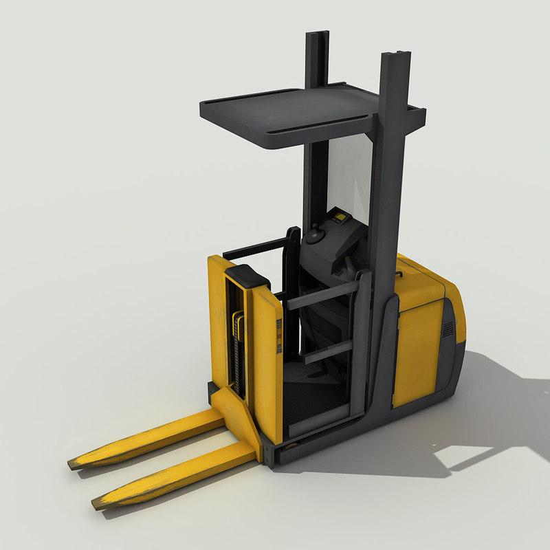 order picker - 3d 3ds