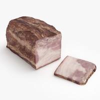 3d salo meat model
