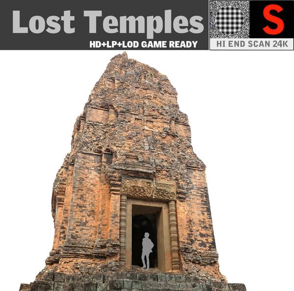 lost temples 24k 3d model