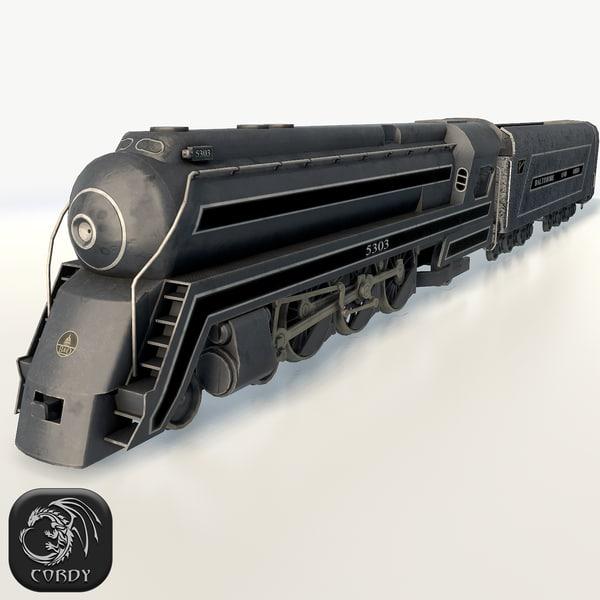 cincinnatian engine 3d model