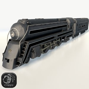 cincinnatian engine 3d model