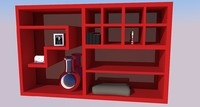 closet 3d 3ds