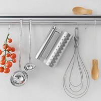 3d model decor kitchen