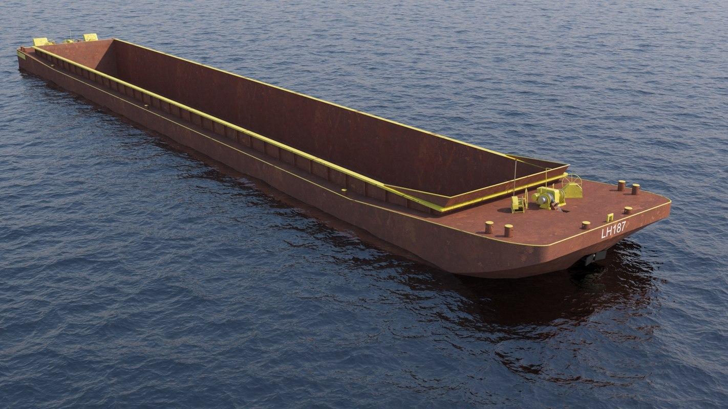 barge 3d x