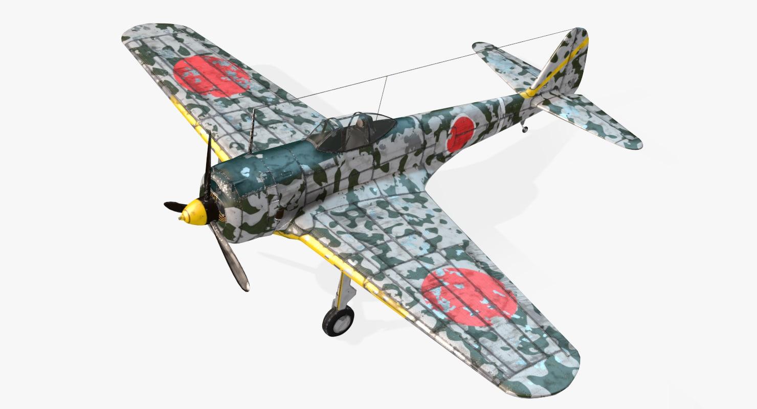 max aircraft nakajima ki-43 real-time