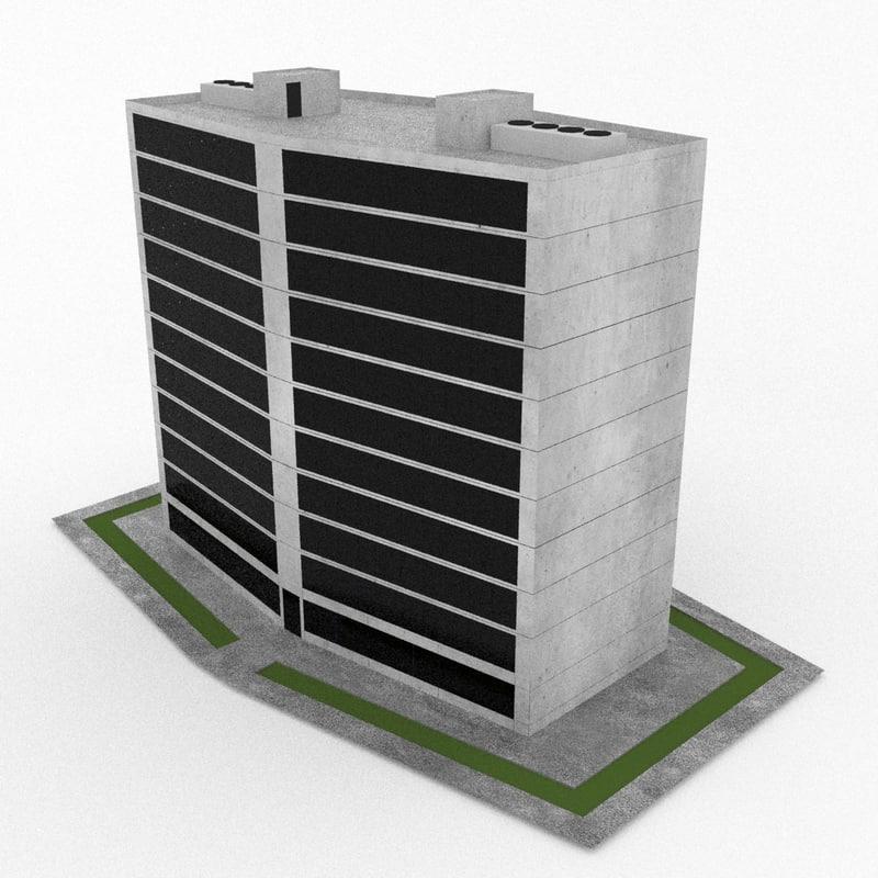 obj office build 09