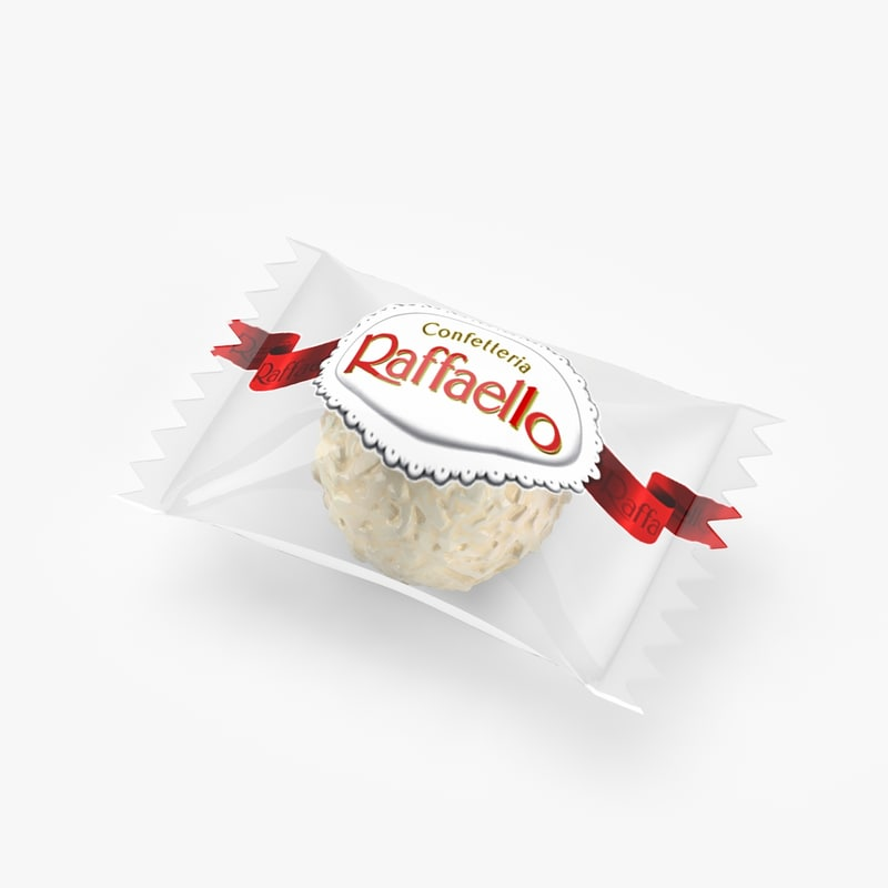 3d raffaello real realistic model