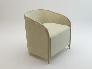 3d bross brig 1600 armchair model