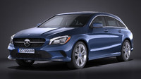c4d mercedes-benz cla shooting