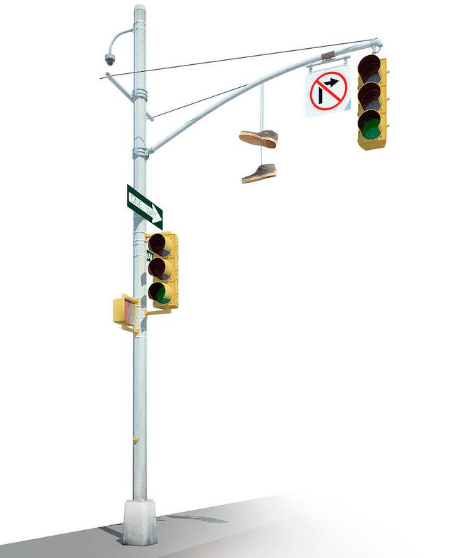 3d street set model