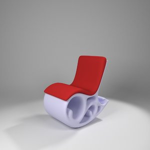 3d aerodynamic rocking chair