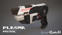 Sci-Fi Plasma Pistol