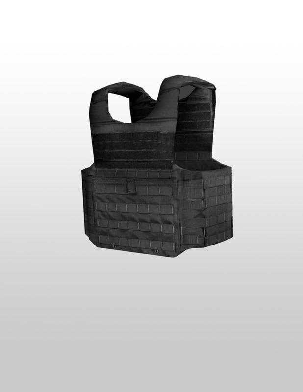 x bullet proof vest