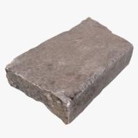 granite plate 3d model