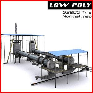 3d model industrial site 2