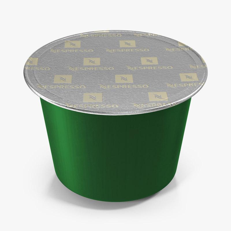 3d coffee capsule