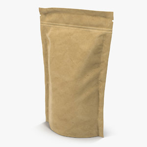 food vacuum sealed bag 3d c4d