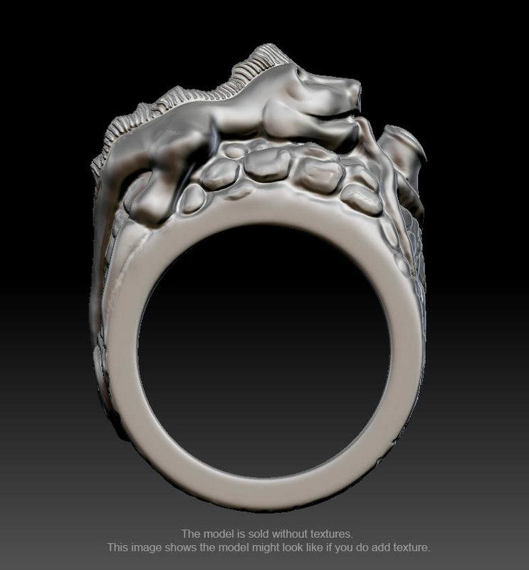 3d rings printing