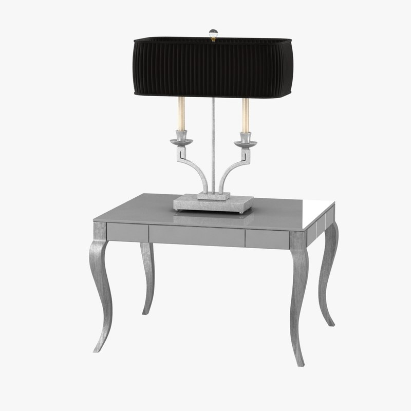 3d lamp table model