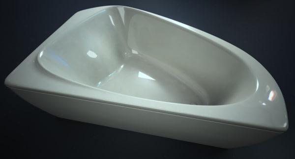 free bath ii 3d model