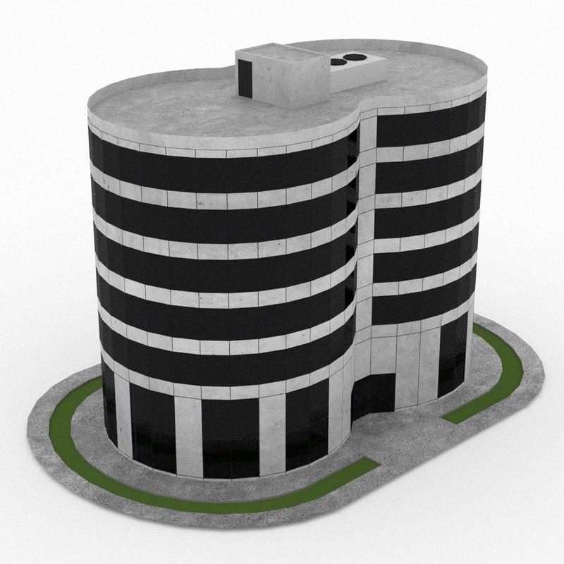 3d office build 12