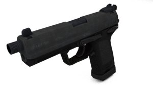 heckler koch usp45 pistol 3d obj