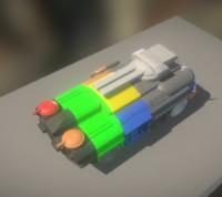 free blend model 3d-printable tank