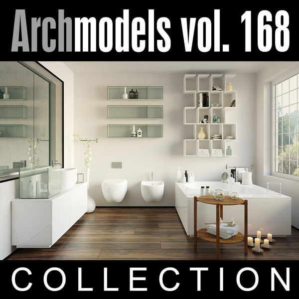 3d model archmodels vol 168
