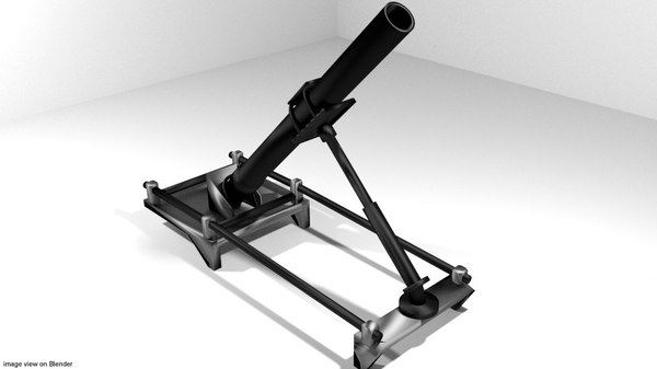 medium mortar 3d model