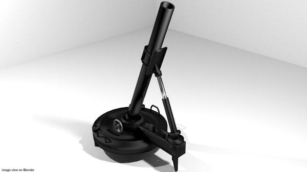 3d 3ds mortar rotate