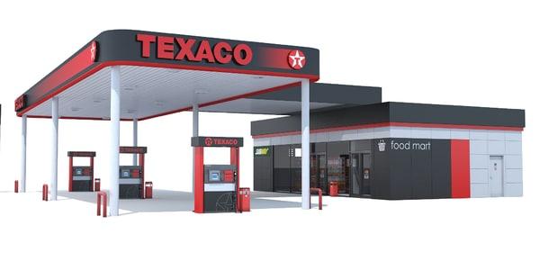 max texaco gas station