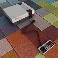 3d model nintendo entertainment