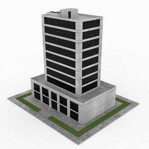 3d model office build 13