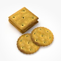 cookies real realistic 3d model