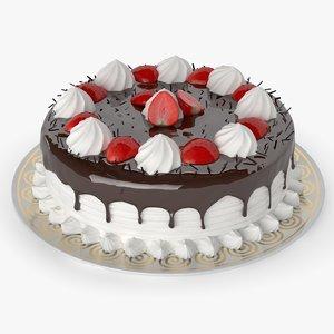 obj chocolate cake