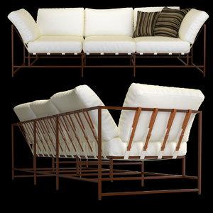 canvas copper sofa max