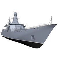destroyer 3d c4d