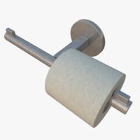 x toilet paper holder