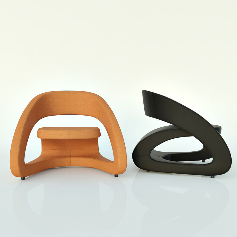free smile chair 3d model