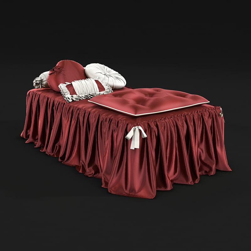 bedclothes bed cloth 3d model
