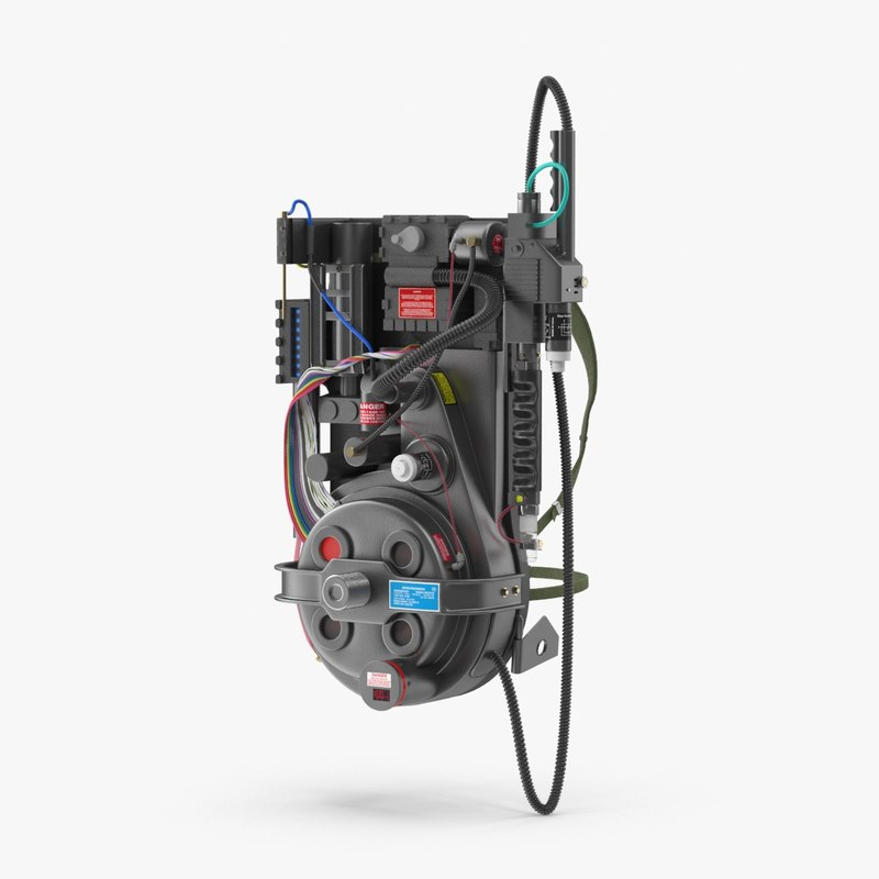 ghostbusters proton pack max